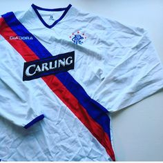 Iconic Kits ( iconickits) • Instagram photos and videos. Long sleeved  rangers Away shirt ... b4b9e9f6c