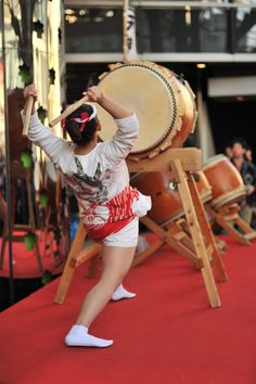 Japanese drum, taiko.
