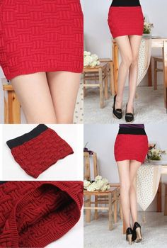 Square Grid Knitted Package Hip Skirt Red    Item No:KSU108  One Size  Color:Red  This is a wide use accessories, it fits to any kind of your clothes.  It can be use as a skirt or a tube top, both way is beautiful.   Hip skirt fully reveals the sexy curves and beautiful legs of women.  Washing method: Hand wash, And use neutral detergent only,  cold water immersion, not vigorously scrub and dry tile.  ¥1800  http://kim-fashion.com/?p=7748