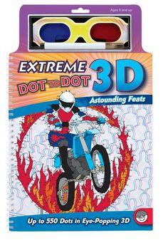 3D Extreme Dot to Dot Astounding Feats
