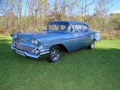1958 Chevrolet Biscayne 2 DOOR for sale Vintage Cars, Antique Cars, 1958 Chevy Impala, True Art, Old Cars, Cars And Motorcycles, Chevrolet, Classic Cars, Movie Cars