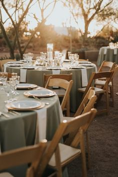 This Black, Burgundy, and Gold Desert Botanical Garden Wedding is a Total Showstopper