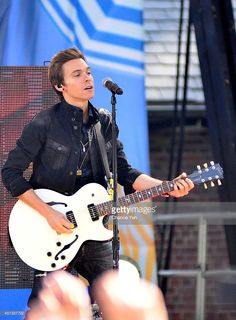 Matthew Koma performs on ABC's 'Good Morning America' at Rumsey Playfield on June 27, 2014 in New York City.
