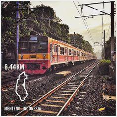 #nikeplus #run #myrun #running #morningrun #goodmorning #street #train #mrt #krl #commuter #commuterline #jakarta #menteng #track #rail #indonesia