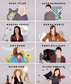 Companions - Doctor Who