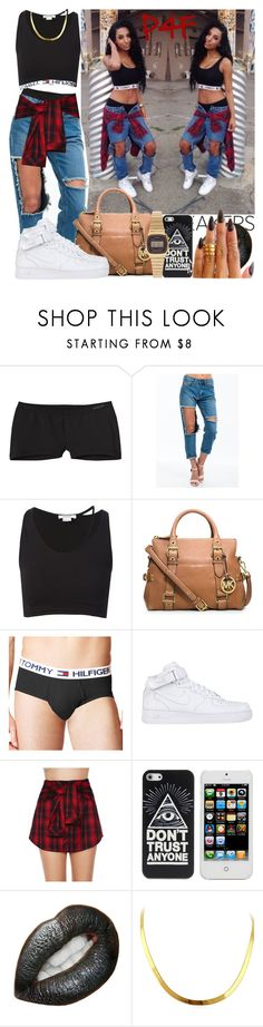 """Passion 4Fashion: Don't Trust 'Em"" by shygurl1 ❤ liked on Polyvore featuring Patagonia, Helmut Lang, Michael Kors, Tommy Hilfiger, NIKE, Mustard Seed and Casio"