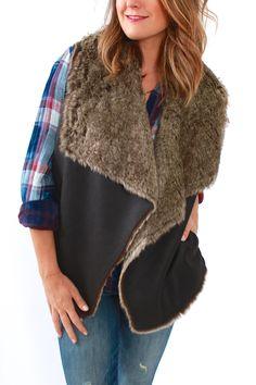 Velvet, Campbell Vest from Viva Diva Boutique
