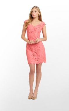 So obsessed with the new @Lilly Pulitzer Rosaline dress for their Spring 2013 line! Perfect to wear to the spring wedding!