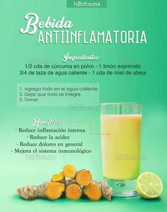 Hábitos Health Coaching | BEBIDA ANTIINFLAMATORIA