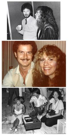 three interesting photos that include Stevie   ~ ☆♥❤♥☆ ~     originally shared by Gordon Perry as part of the  Rolling Stone photoshoot in the 1980's; photos by Annie Leibovitz; Gordon Perry was once married to Lori Perry-Nicks, Stevie's ex sister in law, friend and long-term back-up singer