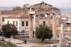 121118 120 Athens by Carl Ottersen, via Flickr. The Roman Forum