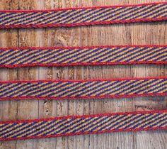 Tablet Woven Trim Tablet Weaving Card Weaving Medieval by inkleing