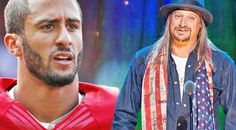 Country Music Lyrics - Quotes - Songs Kid rock - Kid Rock Interrupts Performance To Deliver Explosive Comment On Colin Kaepernick - Youtube Music Videos http://countryrebel.com/blogs/videos/kid-rock-interrupts-his-own-performance-with-explosive-remark-about-49ers-colin-kaepernick
