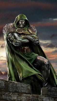 thecyberwolf: Doctor Doom Created by John Gallagher (Uncanny Knack) / Find this artist on Website & DeviantArt / More Arts from this Artist on my Tumblr HERE