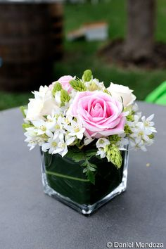 Cute centerpiece for little girls First Communion