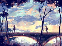Nuriko Kun est un illustrateur de 25 ans dont les oeuvres appartiennent à l'univers du manga. Sa force est incontestablement son style. Ses traits bruts et surtout ses couleurs absolument magnifiques donnent une véritable identité à ses peintures digitales. Pour en voir plus, visitez son DeviantArt.