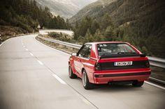 Der Audi Sport quattro ist 1983 der leistungsstärkste deutsche Serienwagen und strotzte vor Hochleistungstechnik.