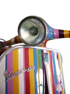 """Vespa Vintage 50 CC  One of the symbols of Made in Italy. The first two-wheel scooter ever made, featuring the steel monocoque chassis, christened by Enrico Piaggio """"Vespa"""" for its rounded shape."""