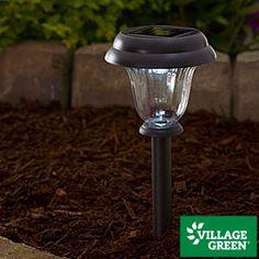 Village Green® Solar Path Light Set, 10-Pack
