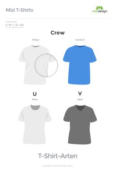 T-Shirt Types Mizidesign
