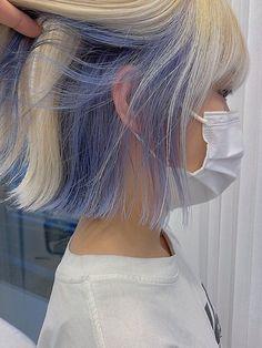 Under Hair Dye, Under Hair Color, Hidden Hair Color, Hair Color Underneath, Hair Color Streaks, Hair Dye Colors, Hair Color Ideas, Hair Colour, Hair Ideas