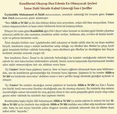 İhlaslı Birinin KESİN Tutturacağı Bir Dua - Cübbeli Ahmet Hoca'dan Dua ve Zikirler Combattre La Cellulite, Allah Islam, Sufi, Diy And Crafts, Quotes, Bays, Dress, Prayer, Balcony