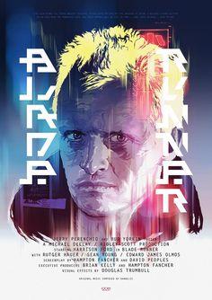 Grzegorz Domaradzki : Blade Runner Poster