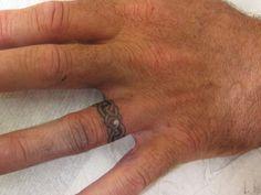 Wedding Ring Finger Tattoos   25 Marvelous Ring Finger Tattoos - SloDive
