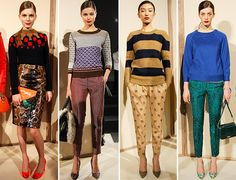 MTV Style | J.Crew Does Heavy-Handed Layering And Mixed Prints
