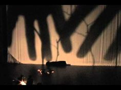 Christine Marie presents shadow theater at Ted Talk