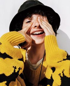 One of 6 talented young actors from Netflix's Stranger Things Finn Wolfhard Millie Bobby Brown, Finn Stranger Things, Jaden Smith, Shay Mitchell, Foto Art, Film Serie, Celebs, Celebrities, Celebrity Crush