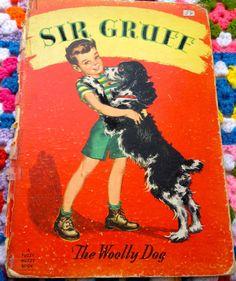 1960s Whitman Sir Gruff The Woolly Dog Book