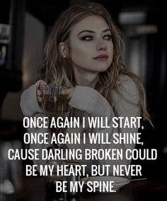 Tough Girl Quotes 58 Ideas For 2020 Tough Girl Quotes, Babe Quotes, Self Quotes, Badass Quotes, Wisdom Quotes, Woman Quotes, Happy Girl Quotes, Strong Women Quotes, Vie Motivation