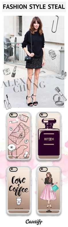 Get the Look - Fashion Style Alert! Love Alexa Chung as much as us? Shop her style here >>> https://www.casetify.com/artworks/GyyefGIkbE   @casetify