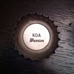 """KOA = Hawaiian for """"Warrior"""" (Kona Brewing Company cap) #craftbeer"""
