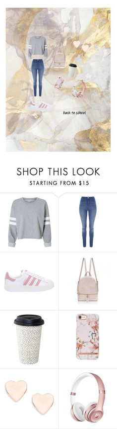 """""""School vibes"""" by eliza702 ❤ liked on Polyvore featuring Jane Norman, adidas Originals and Ted Baker"""