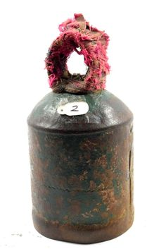 Vintage Collectible Iron Big Size Farm House Cow/Sheep Bell Rich Patina. G70-61