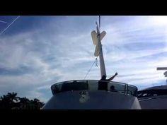 Sabre 48 Fly Bridge install on hull #90. #siebertyachtmanagement, #downeastyachting, #sabreyachts - YouTube