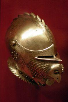 Rooster helmet Germany (Augsburg), ~1530.
