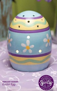 Wickless candles and scented fragrance wax for electric candle warmers and scented natural oils and diffusers. Shop for Scentsy Products Now! Candle Wax Warmer, Scented Wax Warmer, Hoppy Easter, Easter Eggs, Easter Hunt, Dancing Daisy, Tart Warmer, Pastel Pattern, At Least
