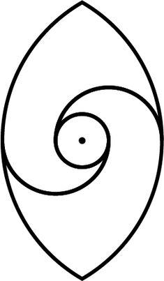 Ancient taijitu (yin yang) in vesica piscis3 by Maasiai