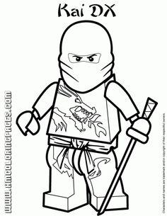 Lego Ninjago Green Ninja | Super Coloring | Kids stuff | Pinterest ...