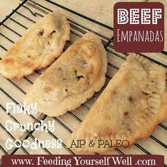 AIP - Paleo - Beef Empanadas - www.FeedingYourse...