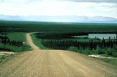 Mackenzie Highway..Mackenzie Highway runs north from Grimshaw, Alberta, to Wrigley, NWT, on the Mackenzie River (courtesy Government of the NWT).