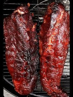 How to Smoke Baby Back Ribs Recipe - Snapguide Barbecue Ribs, Barbecue Recipes, Grilling Recipes, Grilling Ribs, Smoked Meat Recipes, Rib Recipes, Game Recipes, Chicken Recipes, Foodies
