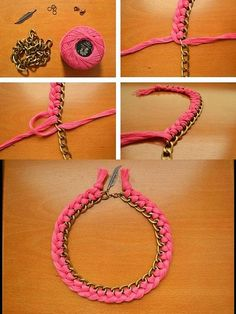 Fashion CECC | DIY : Collar Tejido