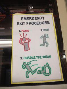 Emergency Exit Procedure
