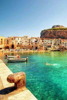 Cefalù, Sicily, Italy: