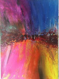 Abstract Emotions original handmade on canvas by  by miveart