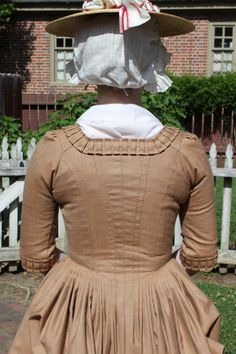 1770s Pumpkin Camblet Gown by GoldenHind on Etsy